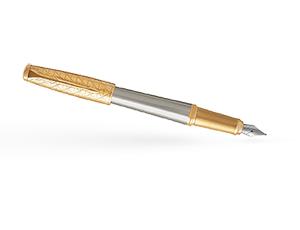 Перьевая ручка Parker Parker Urban Premium Aureate Powder GT, нержавеюща  1931571