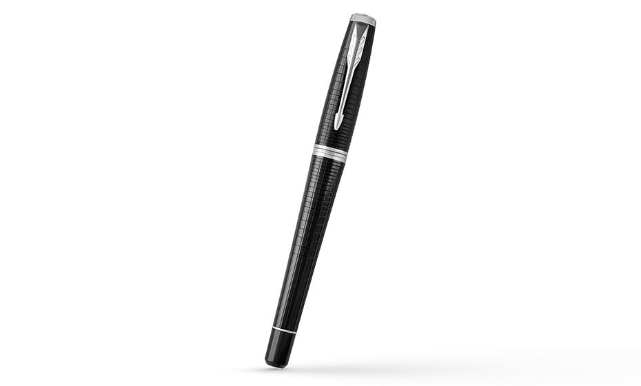 Чернильная ручка Parker Parker Urban Premium Ebony Metal CT, ювелирная лат  1931614 351179316147