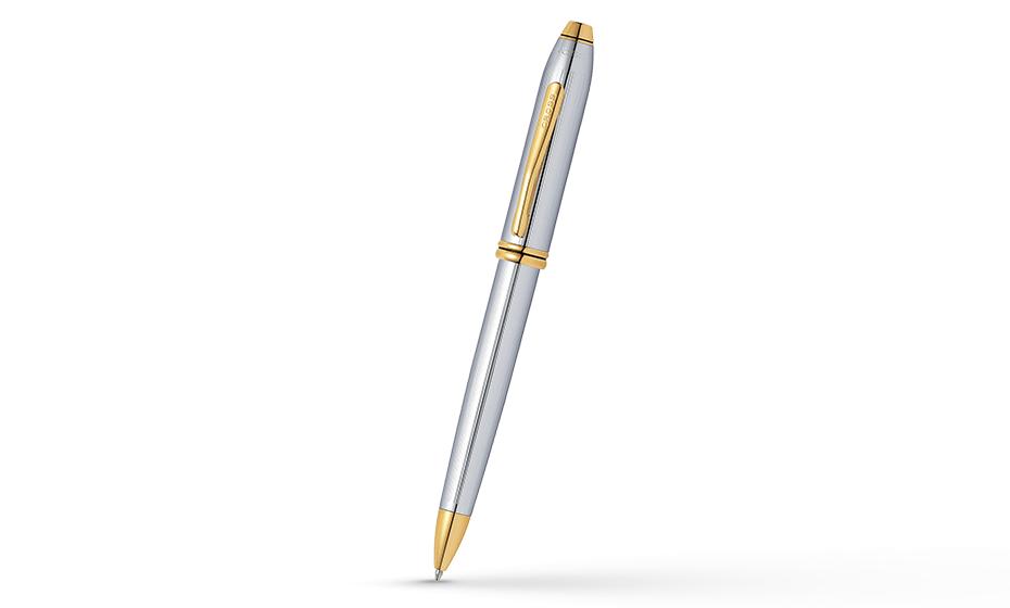 Шариковая ручка Cross Cross Townsend 2016 Medalist, ювелирная латунь, гр  502TW