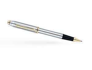 Чернильная ручка Cross Cross Townsend Medalist, ювелирная латунь, гравиро  505
