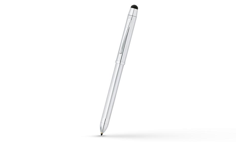 Шариковая ручка Cross Tech3, ювелирная латунь, хромирование, гравировка,  AT0090-1