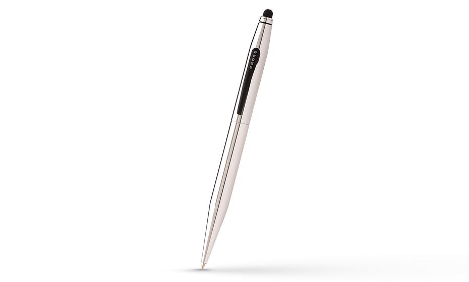 Шариковая ручка Cross Tech2, латунь, матовый черный лак, поворотный меха  AT0652-2