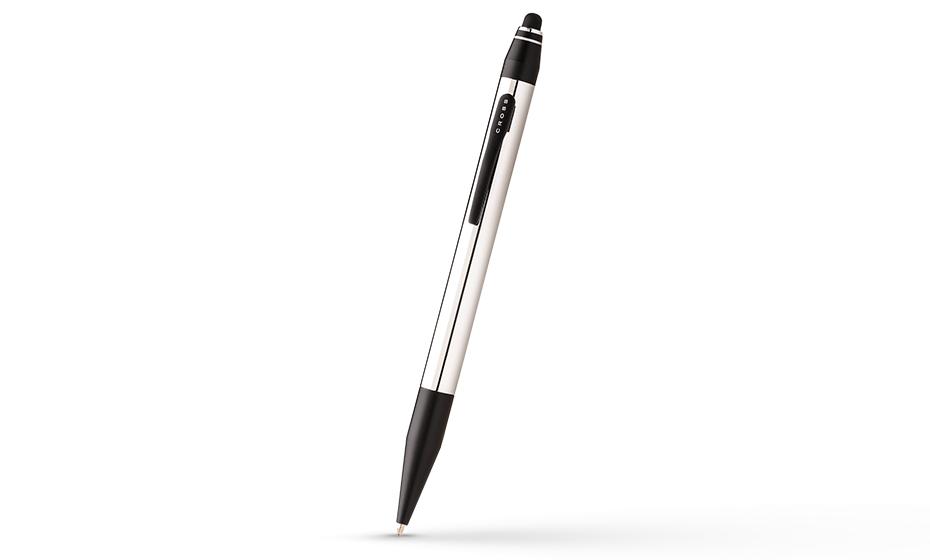 Шариковая ручка Cross Ювелирная латунь, матовый лак, хромирование, повор  AT0682S-2