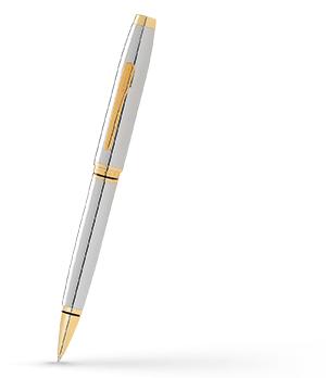 Набор Cross Ювелирная латунь, позолота 23К, хромирование, пово  AT0661G-2