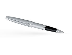 Чернильная ручка Cross Apogee, латунь, лак, стержень М, хром  AT0125-18