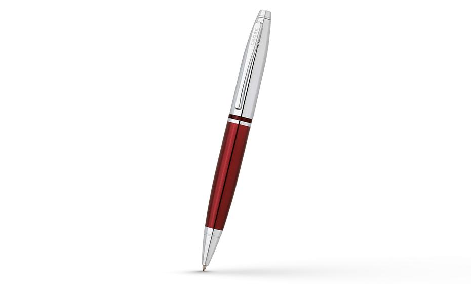 Шариковая ручка Cross Calais, лак, хромирование, поворотный механизм, пи  AT0112-8