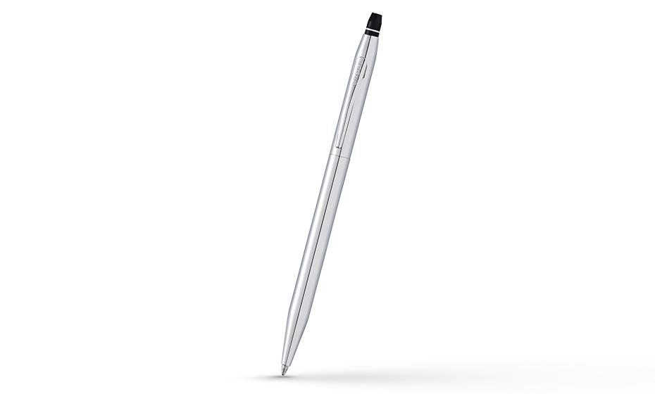 Шариковая ручка Cross Cross Click, ювелирная латунь, хромирование, кнопочный механизм  AT0622S-101 AT0622S-101