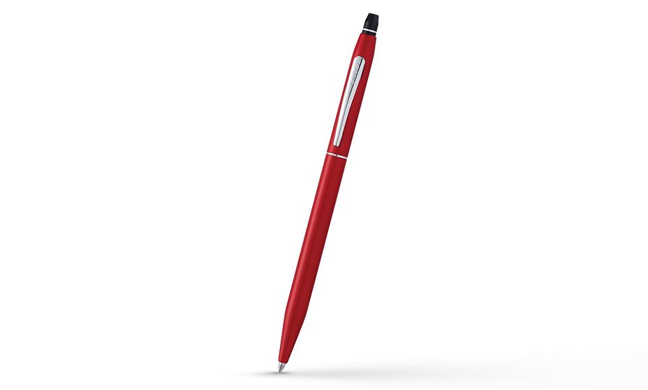 Шариковая ручка Cross Cross Click, латунь, матовый лак, хромирование, кн  AT0622S-119