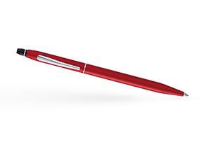 Шариковая ручка Cross Ювелирная латунь, матовый лак, хромирование, кнопо  AT0622S-119