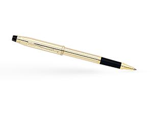 Чернильная ручка Cross Позолота 10К, 1 черный гелевый стержень  4504