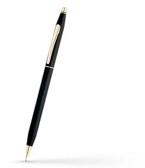 Механический карандаш Cross Эпоксидная смола, позолота 23К, грифель 0,5  250305