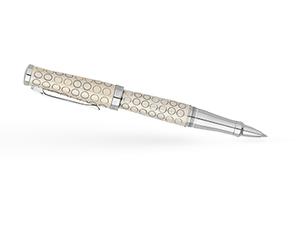 Чернильная ручка Cross Sauvage, латунь, хромирование, лак, гравировка, от  AT0315-13