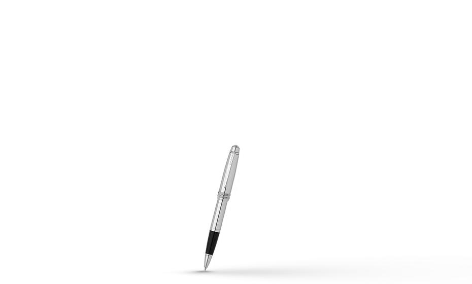 Чернильная ручка Cross Cross Bailey, латунь, съемный колпачок, пишущий уз  AT0455-10