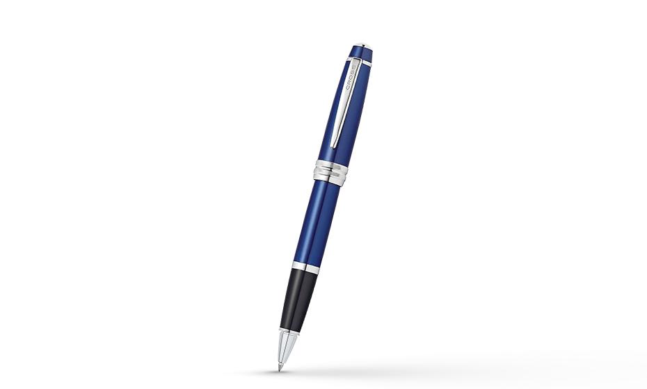Чернильная ручка Cross Cross Bailey, латунь, лак, хромирование, съемный к  AT0455-12