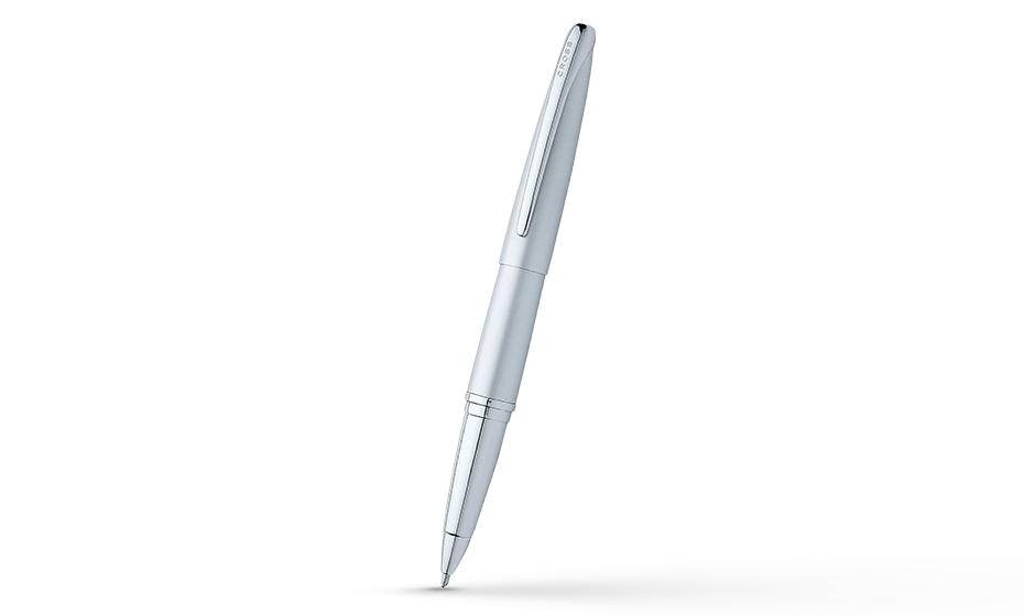 Чернильная ручка Cross Хромирование, 1 черный гелевый стержень  885-1