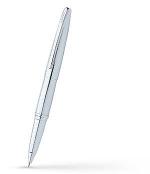 Чернильная ручка Cross Хромирование, 1 черный гелевый стержень  885-2