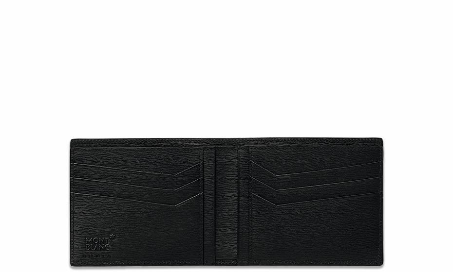 Бумажник Montblanc 4810 Westside,  кожа, черный  114686