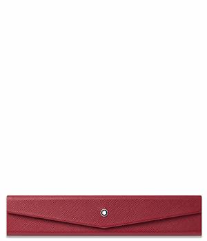Чехол для ручки Montblanc Montblanc Sartorial, для 1 ручки, складной, кожа с  116345