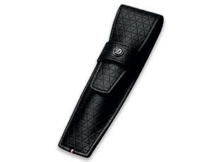 Чехол S.T. Dupont LINE D, для ручки, кожа с узором Firehead, черный  180095