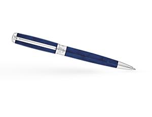 Шариковая ручка S.T. Dupont Atelier, темно-синий лак, палладий  415712