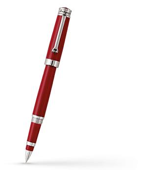 Чернильная ручка Montegrappa PAROLA AMARONE, красная смола, сталь с покрытием п  PAROLA-AMR-RB
