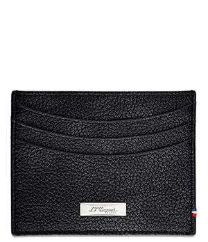Чехол S.T. Dupont Line D, для кредитных карт, зернистая кожа, черный  180261