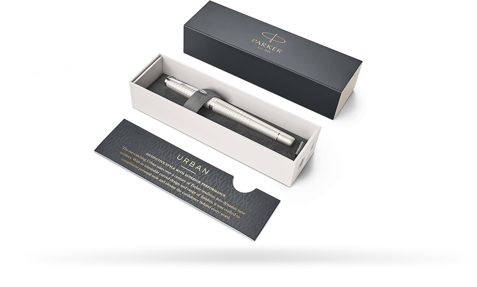 Чернильная ручка Parker arker Urban 2016 Premium Pearl Metal CT, латунь, л  1931610