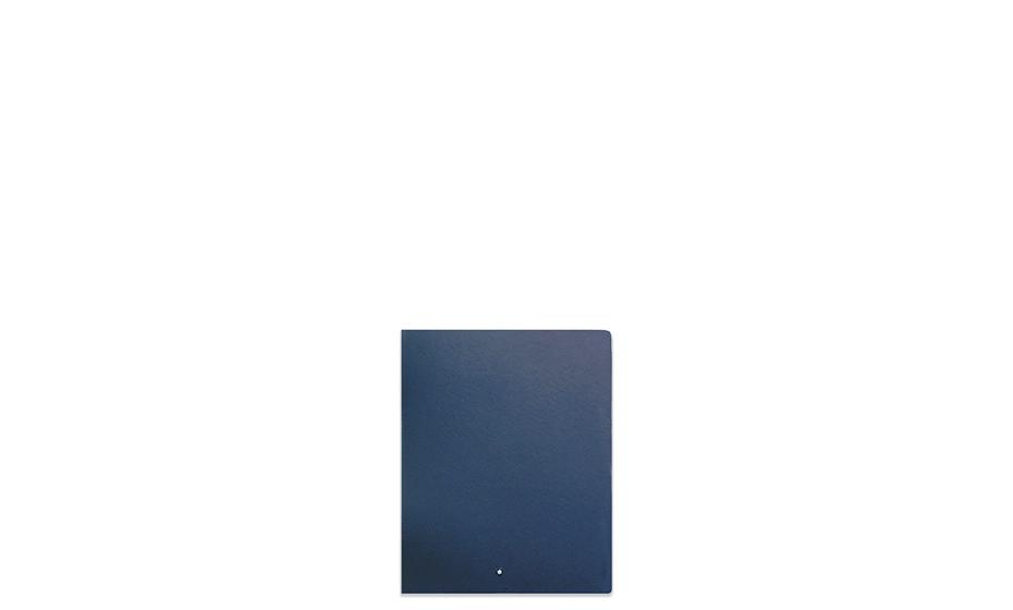 Блокнот Montblanc кожа с тиснением под сафьян, линованная бумага 85г  196096