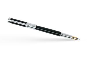 Перьевая ручка Pierre Cardin Evolution латунь, хром, черный  PC1020FP