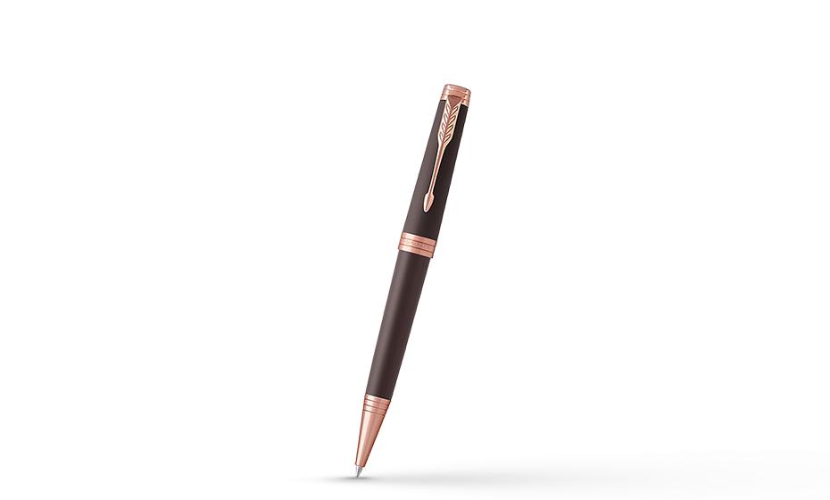 Шариковая ручка Parker Parker Premier Soft Brown, лак, латунь, позолота,  1931408