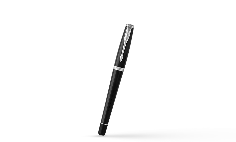 Перьевая ручка Parker Urban Core, сталь, хром, полированный пластик, чер  1931596 351179315966
