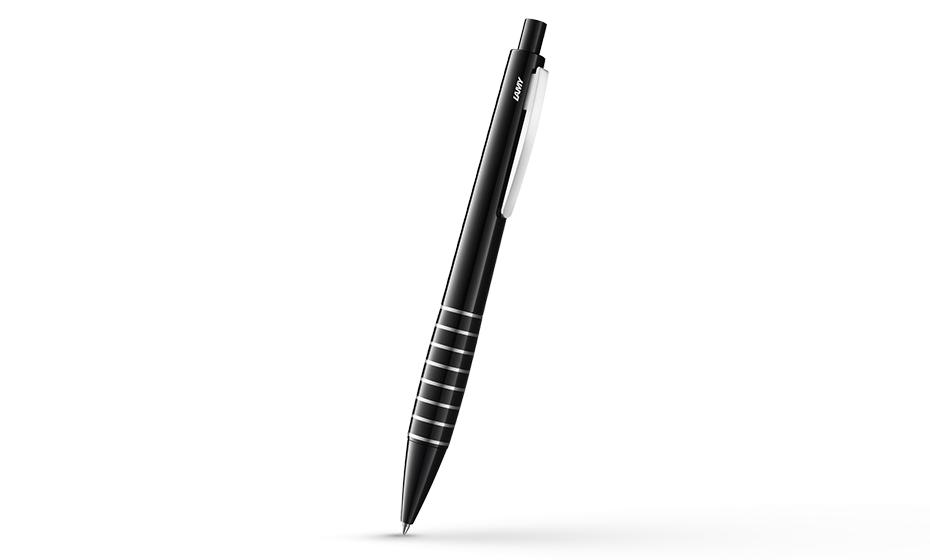 Шариковая ручка Lamy Lamy accent LD, лак, кольца, черная  4001045 4001045