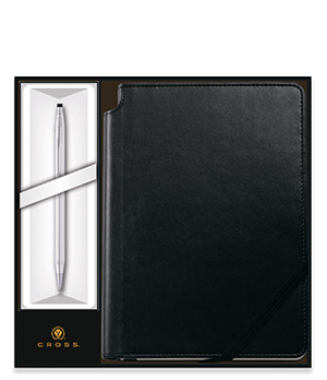 Набор Cross Шариковая ручка Cross Classic Century Chrome + зап  3502/1M