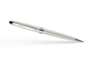 Шариковая ручка Pierre Cardin Progress, латунь, лак, хром, белая  PC5009BP-B7