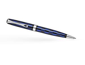 Шариковая ручка Diplomat Excellence A ROME BLACK BLUE, лак, черно-синяя  D20000921