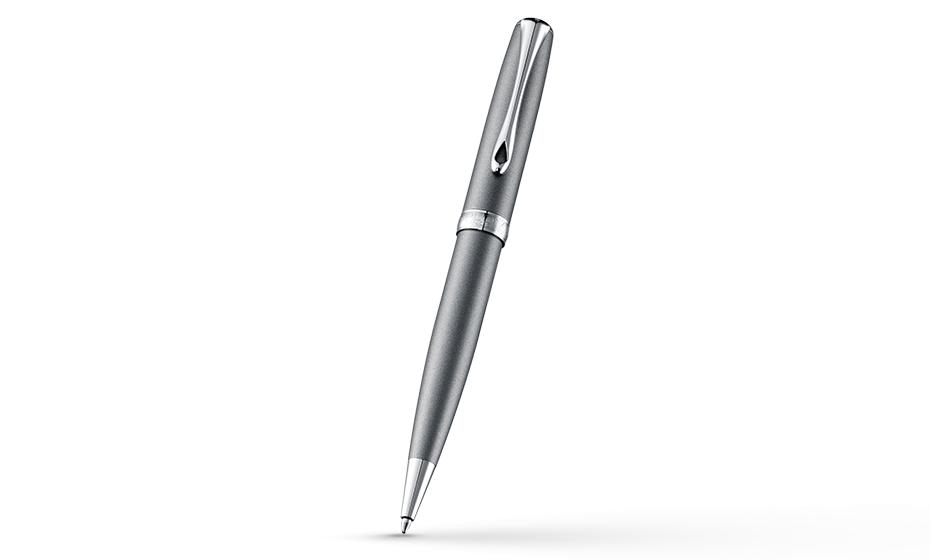 Шариковая ручка Diplomat Excellence A VENEZIA PLATIN CHROME, платина, хром  D20000747