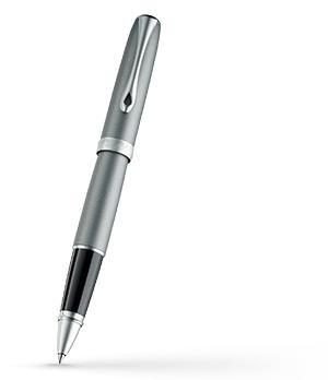 Чернильная ручка Diplomat Excellence A VENEZIA MATT CHROME, матовый лак, хро  D20000805