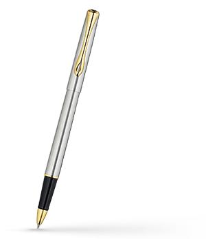 Чернильная ручка Diplomat Traveller, сталь, позолота  D20000651