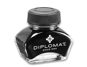 Чернила Diplomat Diplomat, во флаконе, 30 мл, черные  D20000324