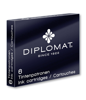 Картриджи Diplomat Diplomat, черные, 6 штук  D10275204