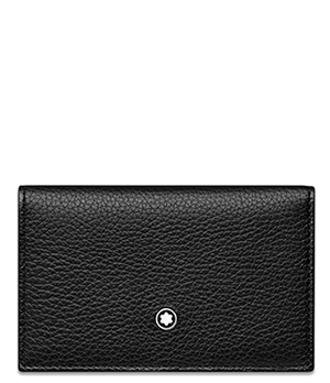 Визитница Montblanc Double Envelope Meisterst?ck Soft Grain, зернистая  116745