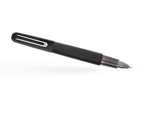 Чернильная ручка Montblanc Montblanc M Ultra Black, магнитный механизм на кол  116563