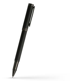 Чернильная ручка Hugo Boss Column, металл, черный  HSG7885A