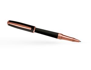 Чернильная ручка Hugo Boss Essential, латунь, розовая позолота, черный  HSW7445E