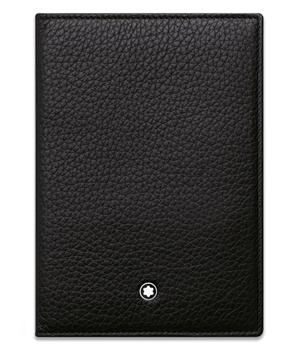 Обложка Montblanc Meisterst?ck Soft Grain, для паспорта, зернистая к  113308