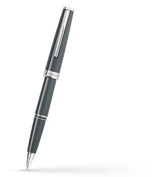 Чернильная ручка Montblanc PIX, смола, платиновое напыление, серая  116577