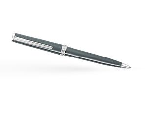 Шариковая ручка Montblanc смола, платиновое напыление, поворотный механизм  116578