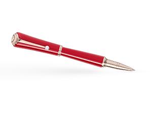 Чернильная ручка Montblanc Muses Marilyn Monroe, смола, жемчужина, красная  116067