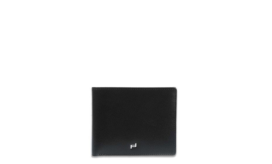 Портмоне Porsche Design BillFold H5 SAFFIANO Porsche Design, кожа, темно-с  4090002315