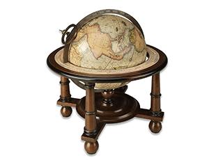Глобус Authentic Models Authentic Models Navigators, дерево, коричневый  GL023F